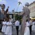 Szent Márton köpenye - jelenetek egy utcai spektákulumból